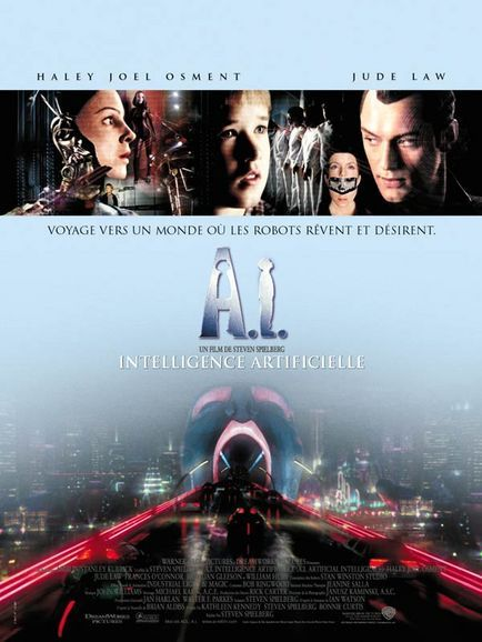 A.I. : INTELLIGENCE ARTIFICIELLE   ARTIFICIAL INTELLIGENCE : A.I.   2001