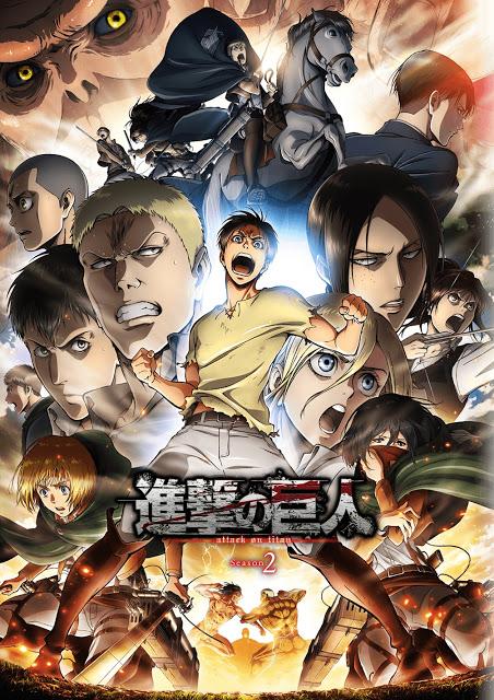 Attaque des titans saison 2 - l' | Shingeki no kyojin season 2 | 2017