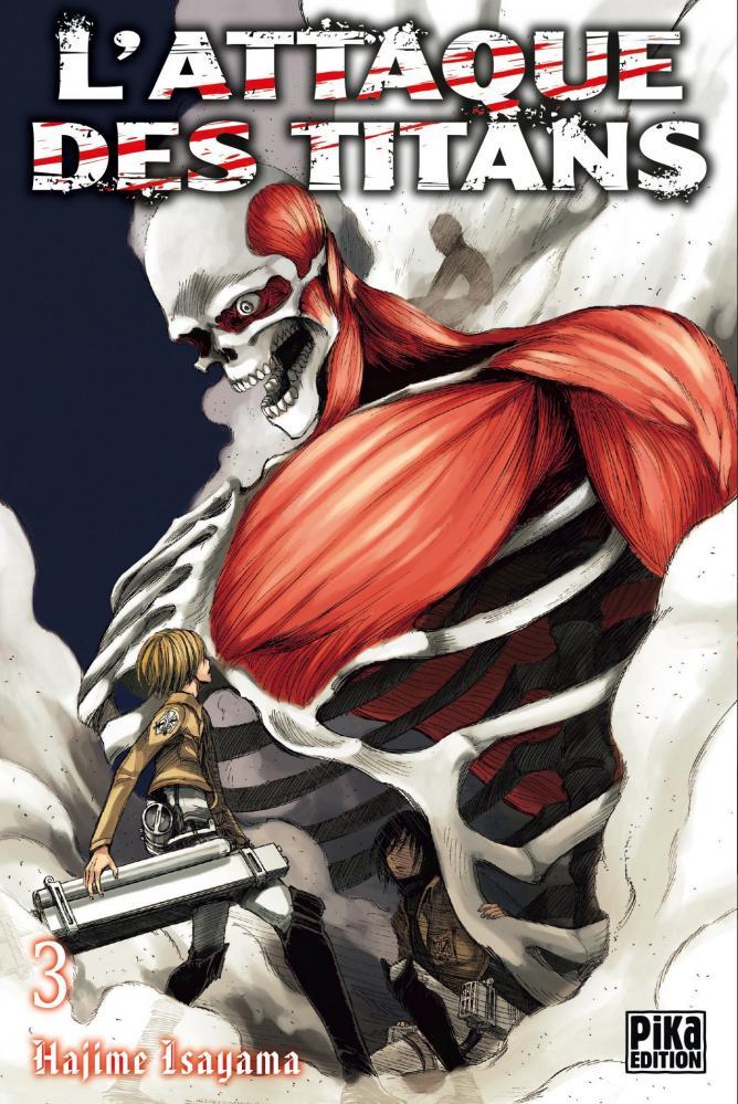 Attaque des titans tome 3 - l' | Shingeki no Kyojin tome 3 | 2010