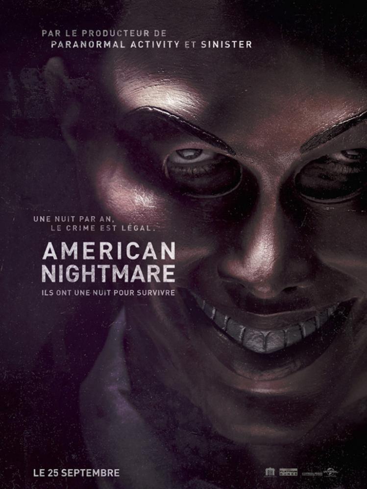AMERICAN NIGHTMARE   THE PURGE   2013