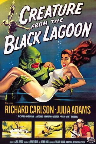 ETRANGE CRéATURE DU LAC NOIR - L | CREATURE FROM THE BLACK LAGOON | 1954