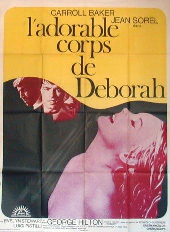 ADORABLE CORPS DE DéBORAH - L'   DOLCE CORPO DI DEBORAH - IL   1968