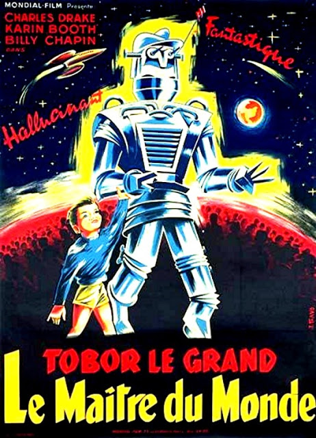 MAITRE DU MONDE  LE | TOBOR THE GREAT | 1954
