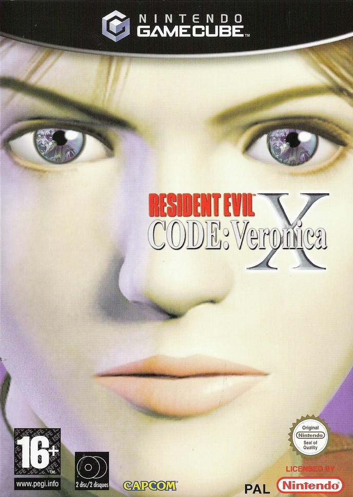 RESIDENT EVIL CODE : VERONICA X   BIOHAZARD CODE : VERONICA   2000