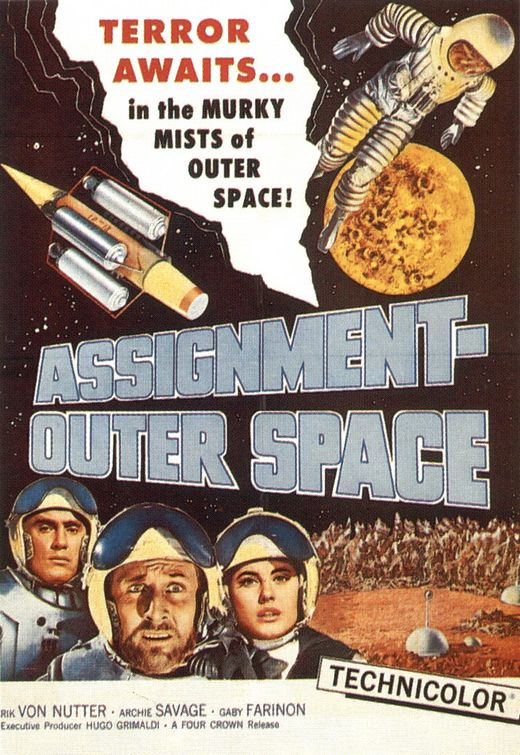 ASSIGNMENT : OUTER SPACE | SPACE MEN | 1960