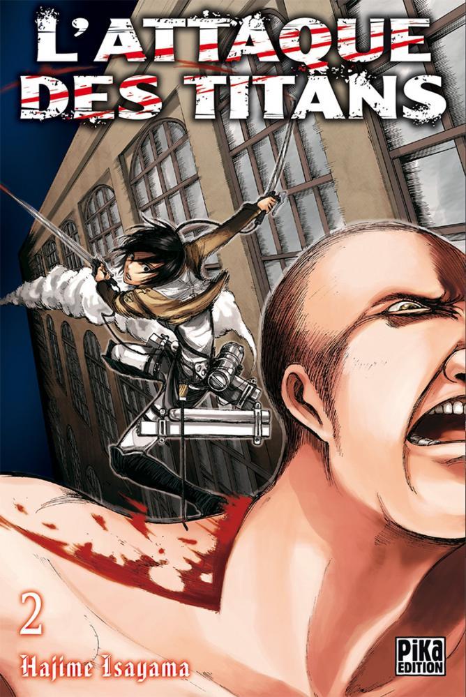 Attaque des titans tome 2 - l' | Shingeki no Kyojin tome 2 | 2010