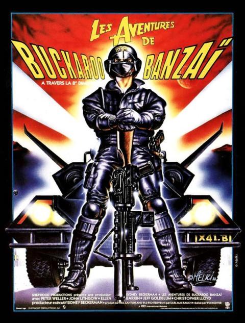 AVENTURES DE BUCKAROO BANZAI - LES   THE ADVENTURES OF BUCKAROO BANZAI ACROSS THE 8TH DIMENSION   1984