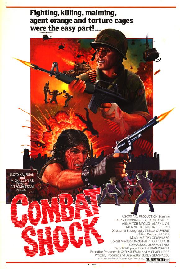 COMBAT SHOCK   COMBAT SHOCK   1986