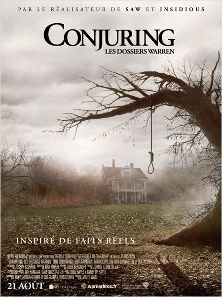 CONJURING : LES DOSSIERS WARREN   THE CONJURING   2013