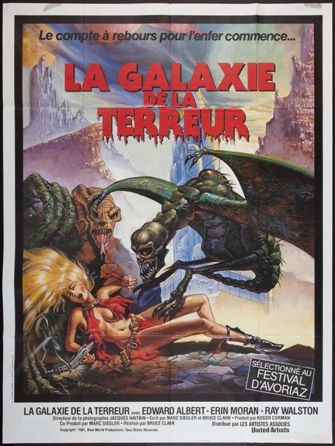 GALAXIE DE LA TERREUR - LA | GALAXY OF TERROR | 1981