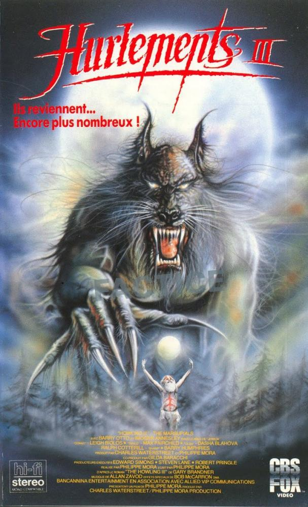HURLEMENTS 3   HOWLING 3 : THE MARSUPIALS - THE   1987