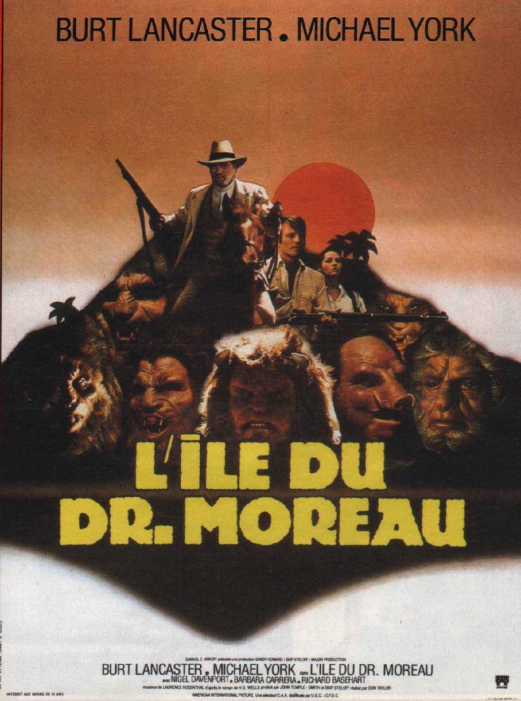 ILE DU DR. MOREAU - L (1977) | THE ISLAND OF DR. MOREAU (1977) | 1977