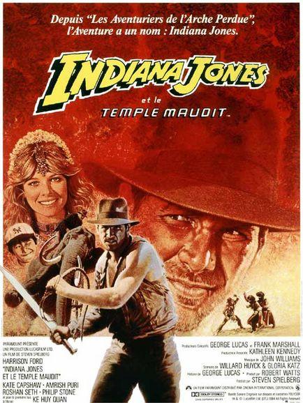 INDIANA JONES ET LE TEMPLE MAUDIT | INDIANA JONES AND THE TEMPLE OF DOOM | 1984