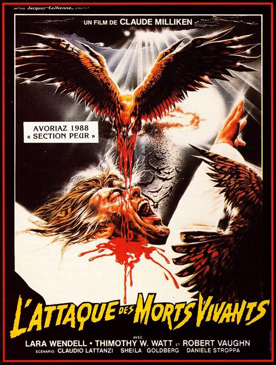 ATTAQUE DES MORTS VIVANTS - L'   KILLING BIRDS: RAPTORS   1987