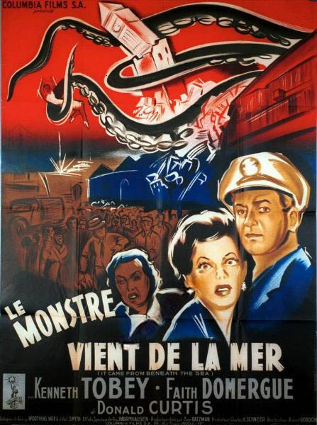 MONSTRE VIENT DE LA MER - LE   IT CAME FROM BENEATH THE SEA   1955