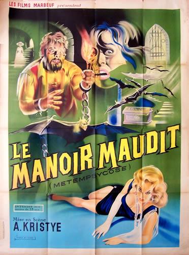 MANOIR MAUDIT - LE   METEMPSYCO   1963