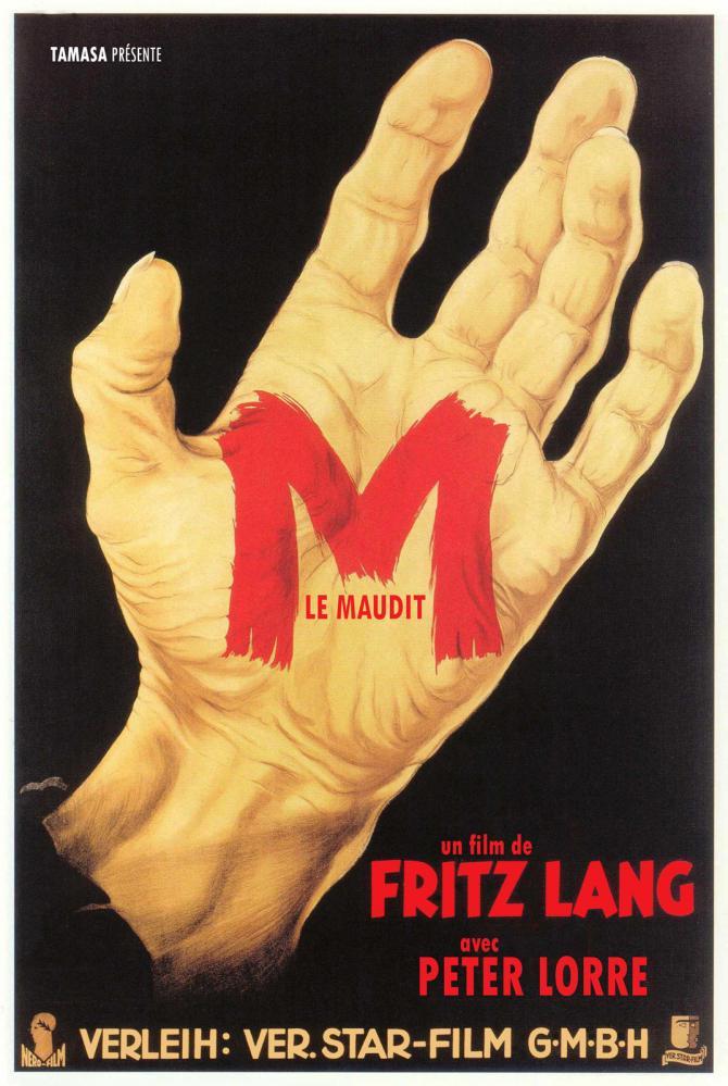 M LE MAUDIT   M, EINE STADT SUCHT EINEN MORDER   1931