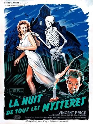 NUIT DE TOUS LES MYSTèRES - LA | HOUSE ON HAUNTED HILL (1959) | 1959