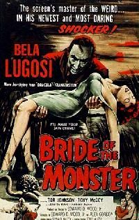 FIANCEE DU MONSTRE - LA | BRIDE OF THE MONSTER | 1955