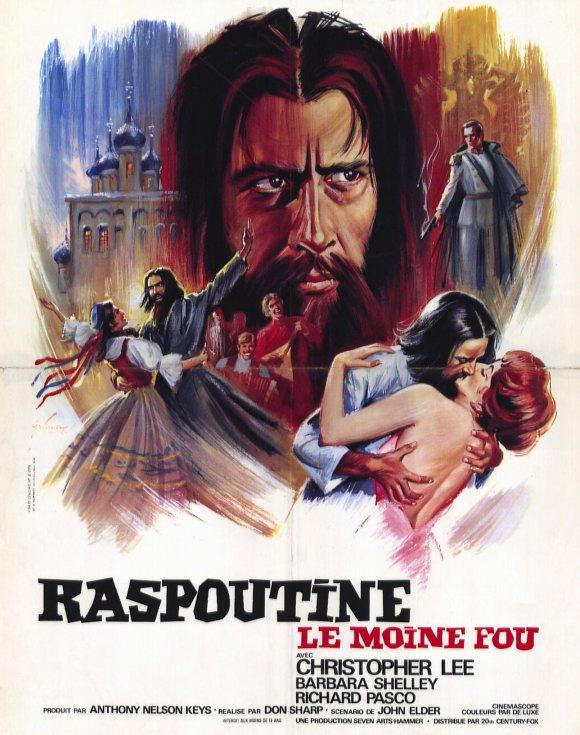 RASPOUTINE LE MOINE FOU | RASPUTIN THE MAD MONK | 1966