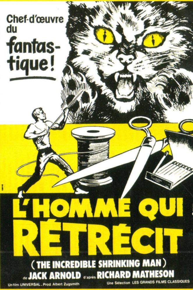 HOMME QUI RéTRéCIT - L   THE INCREDIBLE SHRINKING MAN   1957