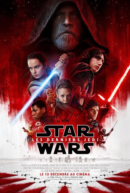STAR WARS 8 : LES DERNIERS JEDI   STAR WARS 8 : THE LAST JEDI   2018