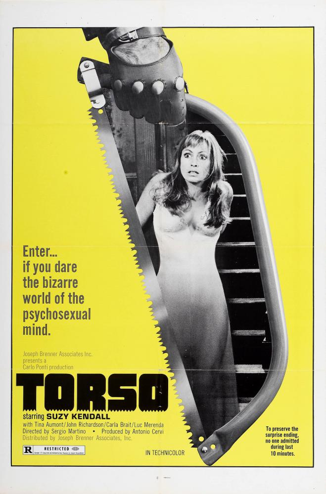 TORSO   I CORPI PRESENTANO TRACCE DI VIOLENZA CARNALE    1973