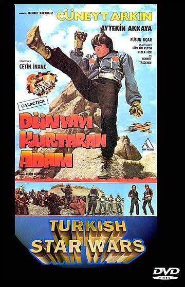TURKISH STAR WARS | DUNYAYI KURTARAN ADAM | 1982